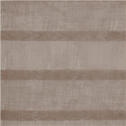Eroica Fancy Stripe Sheer Mocha