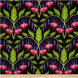 Sweet Lady Jane Fuchsia Rose Fabric
