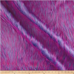 Luxury Faux Fur Falcon Purple/Pink
