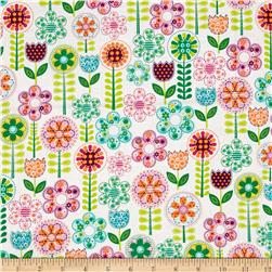 Michael Miller Novelties Fantasy Flowers Multi