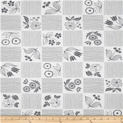 Moda Weeds Garden White/Grey
