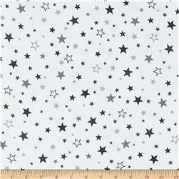 Robert Kaufman Cozy Cotton Flannel Stars Pepper