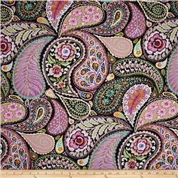 Haute Girls Paisley Black