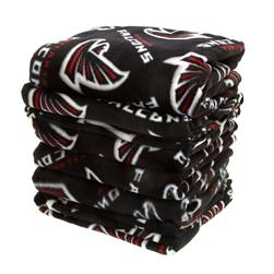Three Pound NFL Fleece Remnant Bundle Atlanta Falcons