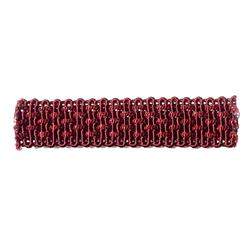 "Fabricut  3/4"" Creed Trim Berry"