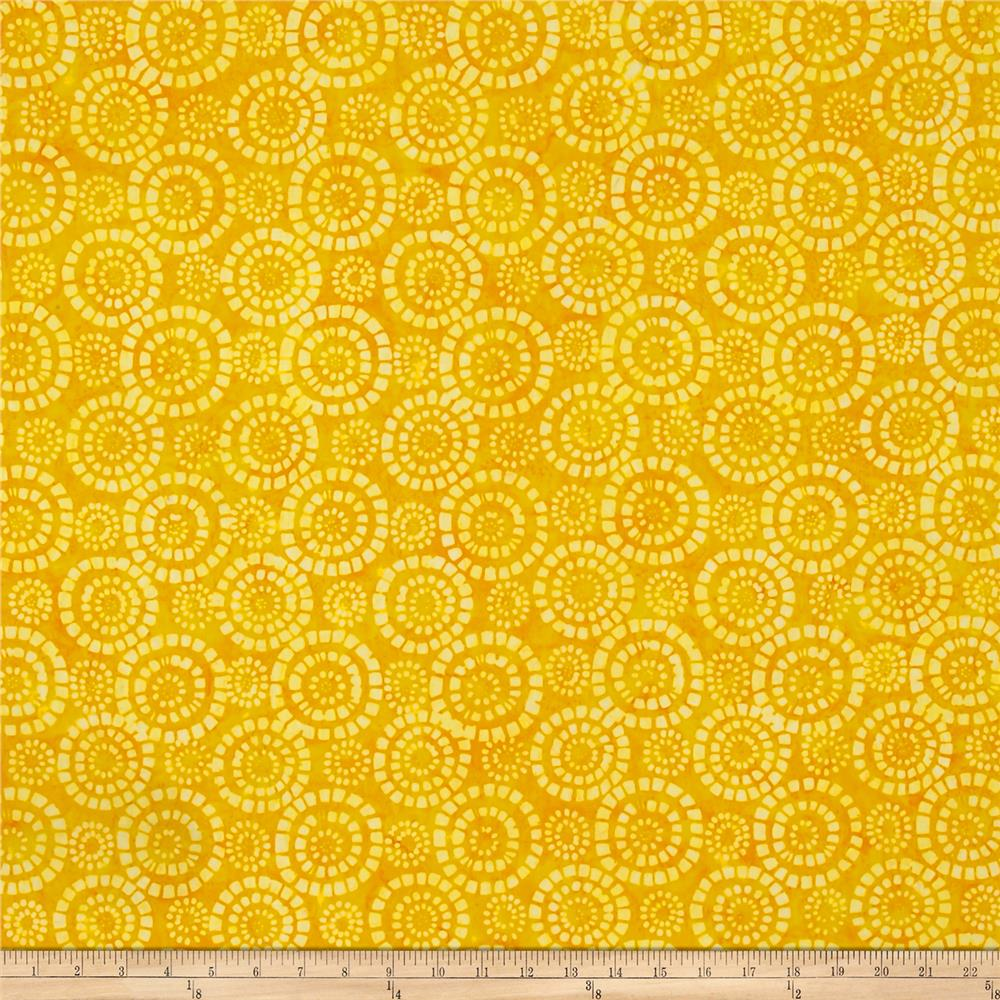 Wilmington Batiks Parasols Yellow