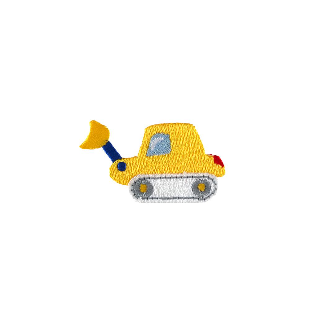 Backhoe Applique Yellow