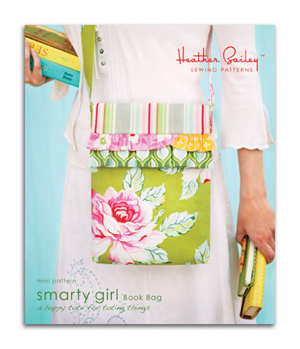 Heather Bailey Smarty Girl Book Bag Pattern