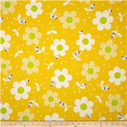 Hello Kitty Giant Daisies Yellow
