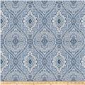 Fabricut Pocket Medallion Ocean Blue