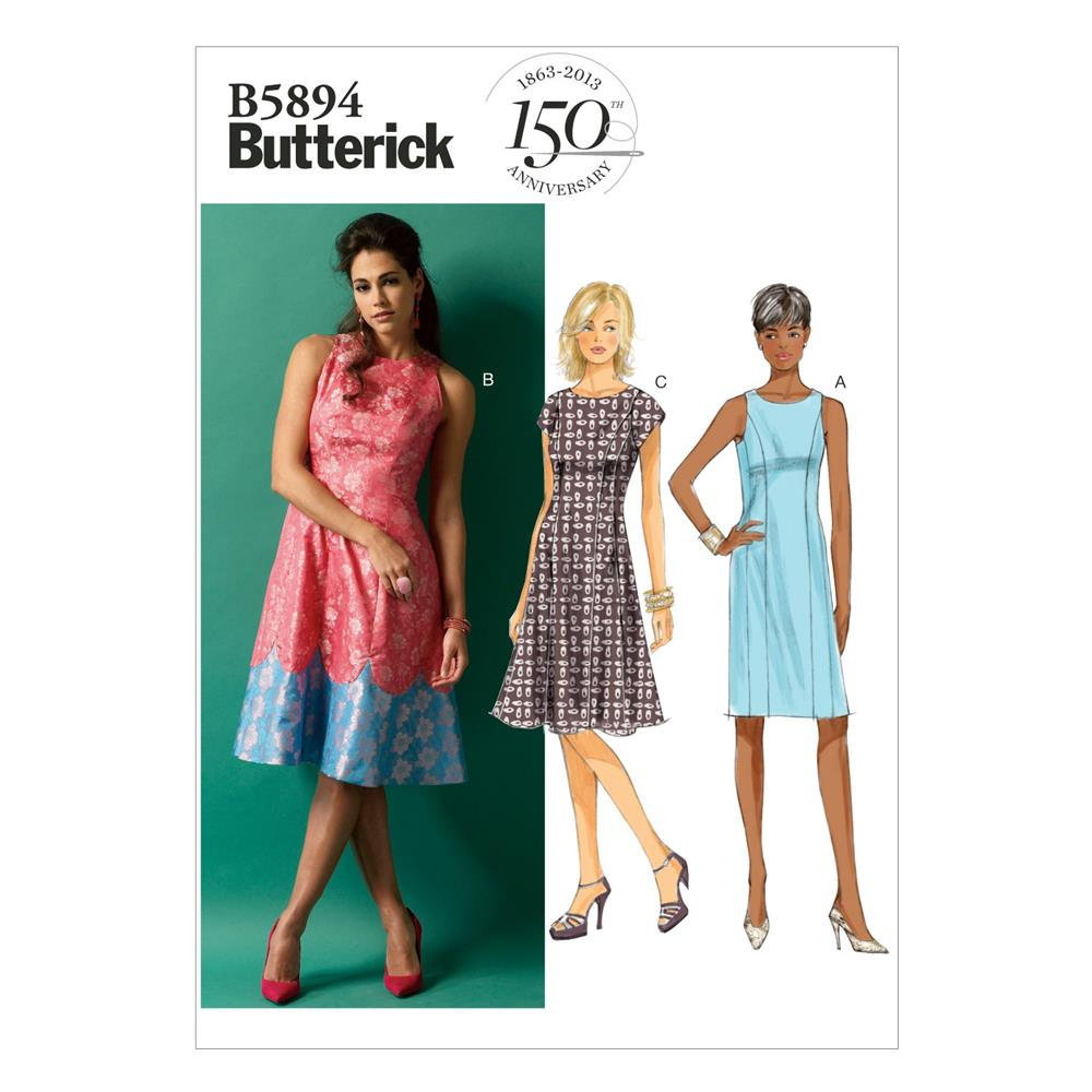 Butterick Misses' Dress Pattern B5894 Size B50