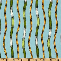 The Lorax Organic Thneed Stripes Earth Fabric