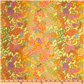 Kaffe Fassett Prints Collection BabaGanoush Yellow