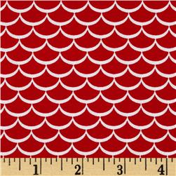 Riley Blake Summer Celebration Summer Waves Red