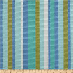 Waverly Funhouse Stripe Jacquard Seaglass
