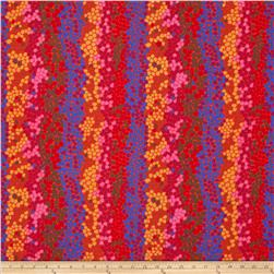 Kaffe Fassett Collective Pebble Mosaic Red