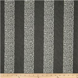 Magnolia Home Fashions Plaza Stripe Onyx