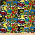 Nickelodeon Teenage Mutant Ninja Turtles Comic Patch Multi