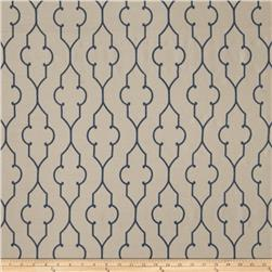 Fabricut Faux Dupioni Silk Akers Lattice Royal
