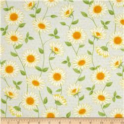 Oh Clementine Sunflowers Grey