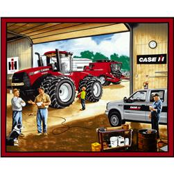 Case IH Garage Panel Red