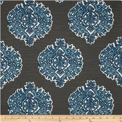Lacefield Madras Slub Seaside Blue Fabric