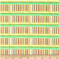 Sketchbook Pastel Stick Stripe Garden