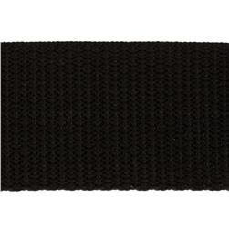 1-1/2'' Polypro Webbing Black Fabric