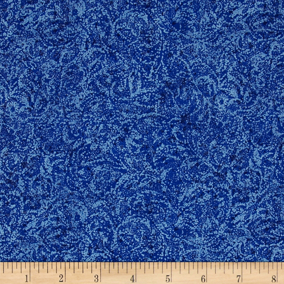 Timeless Treasures Pearlized Texture Royal Fabric