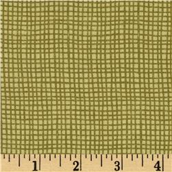 Moda Lady Slipper Lodge Weave Pine Green