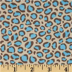 Bright Now Leopard Spots Aqua