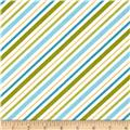 Riley Blake Happy Camper Stripe Blue