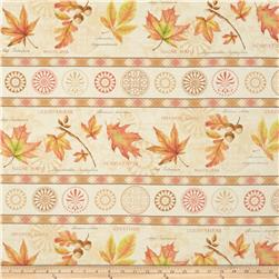 Fall Festival Repeating Stripe Multi