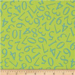 Alphabet Soup Tonal Numbers Green