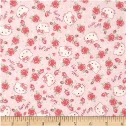 Hello Kitty Roses Pink