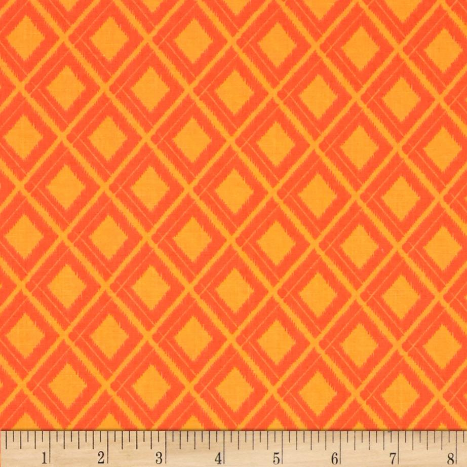 Moda Simply Colorful Ikat Orange