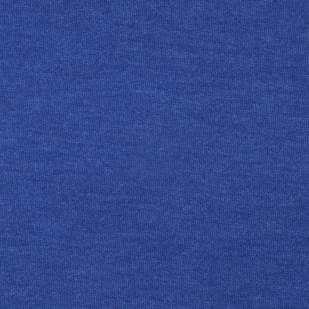 Stretch Rayon Poly Heather Jersey Knit Royal