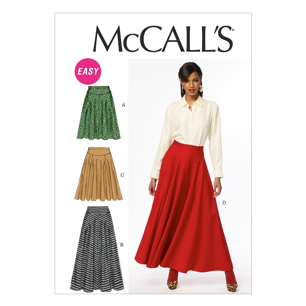 McCall's Misses' Skirts Pattern M6799 Size A50