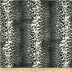 Marni Scuba Knit Leopard Grey Fabric