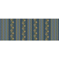 Molly B's 1800's Bessie's Blues Large Border Stripe Violet
