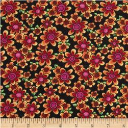 Newcastle Novelties Summer Bouquet Black
