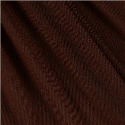 Rib Jersey Knit Brown