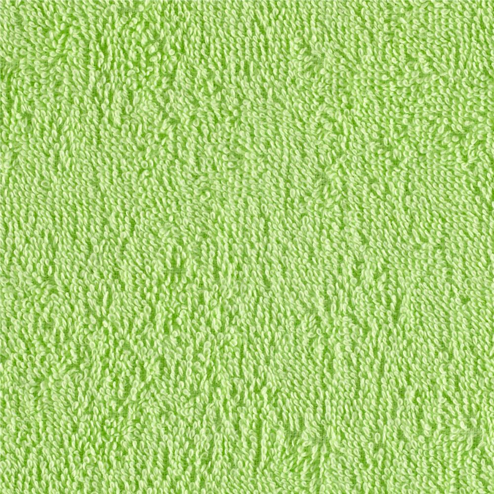 Terry Cloth Cuddle Lime