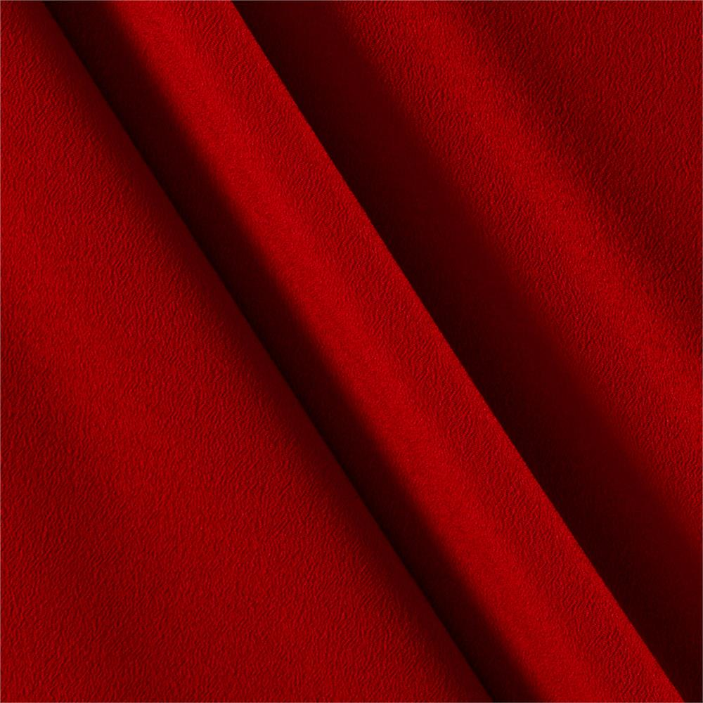Telio Misora Crepe de Chine Dark Red