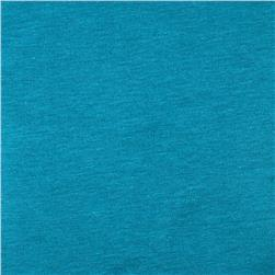 Cotton Spandex Jersey Knit Solid Pacific Blue