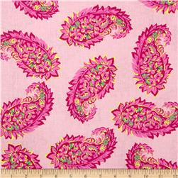 Large Paisley Pink