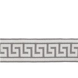 "Fabricut 2.625"" Athens Key Trim Grey"