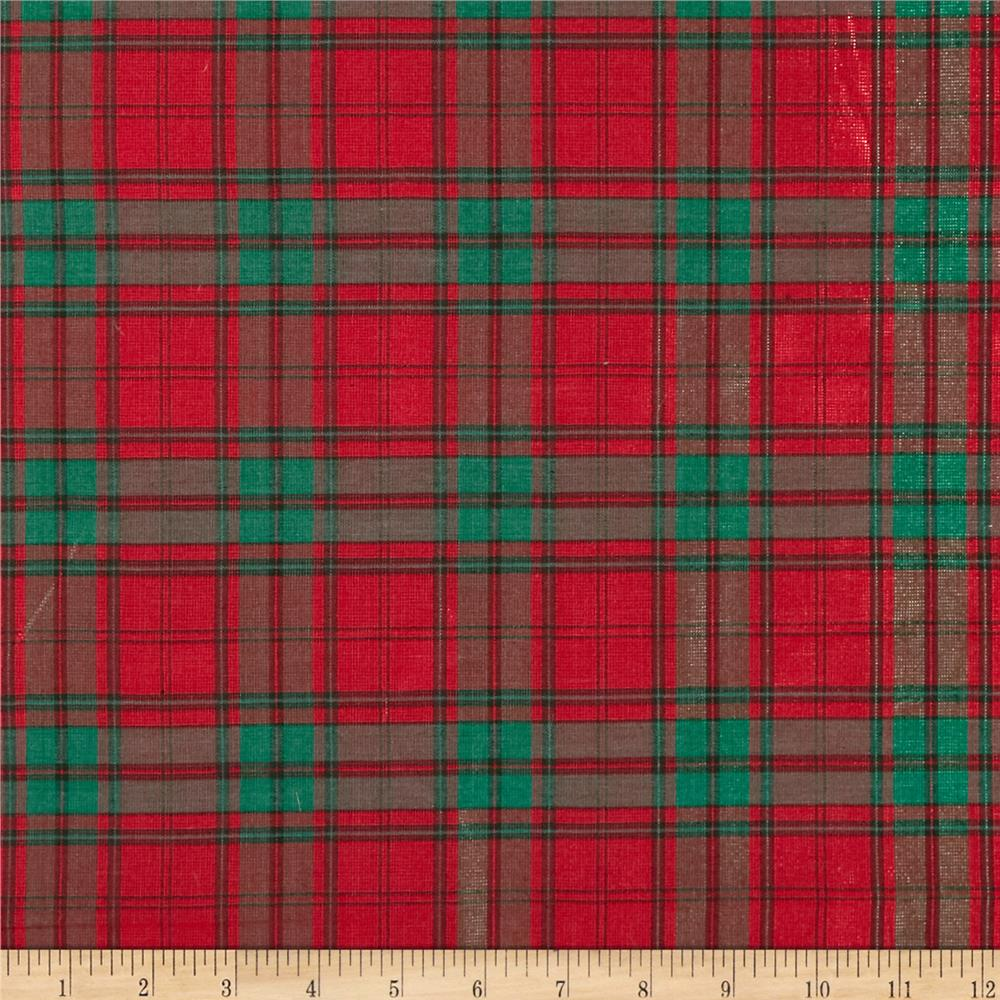 Plaid Fabric - Discount Designer Fabric - Fabric.com
