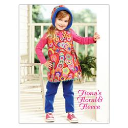 Kwik Sew Toddler Fiona's Floral & Fleece Outfit