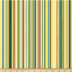 Riley Blake Trail Mix Stripe Multi Fabric